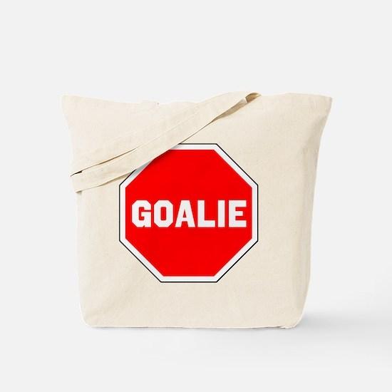 GOALIE (STOP SIGN) Tote Bag
