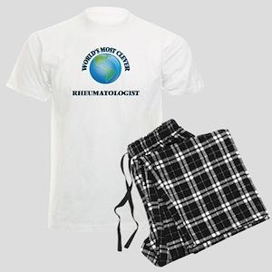 World's Most Clever Rheumatol Men's Light Pajamas