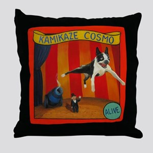 Kamikaze Cosmo Throw Pillow