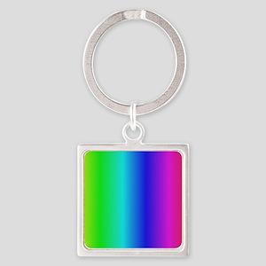 Crayon Box Square Keychain