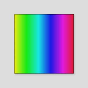 "Crayon Box Square Sticker 3"" x 3"""
