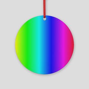 Crayon Box Ornament (Round)