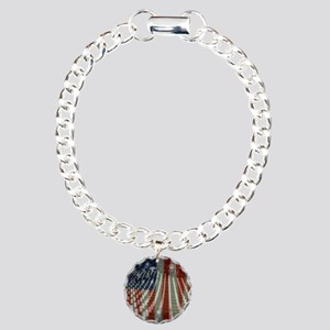 Patriotism Charm Bracelet, One Charm