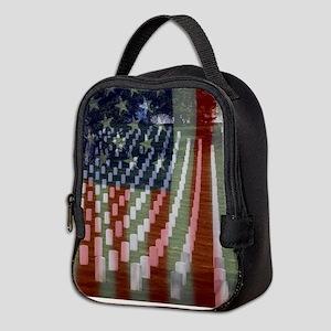 Patriotism Neoprene Lunch Bag