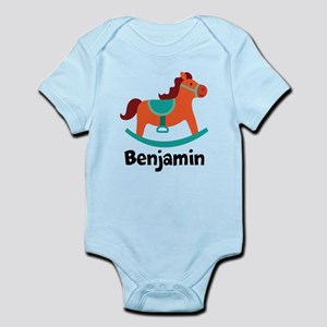 Personalized Baby Rocking Horse Body Suit