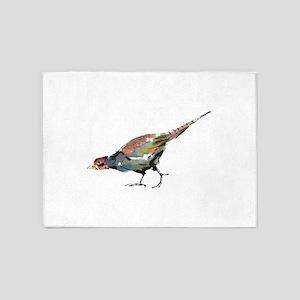 Pheasant 5'x7'Area Rug