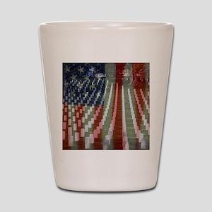 Patriotism Shot Glass
