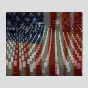 Patriotism Throw Blanket