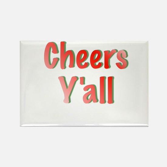 Cheers Y'all Magnets