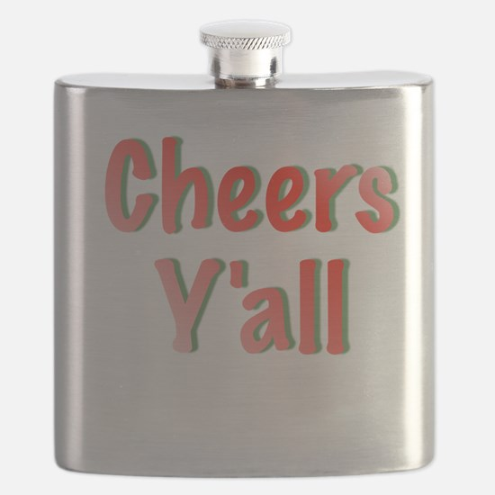 Cheers Y'all Flask