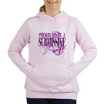 Proudly Submissive Women's Hooded Sweatshirt