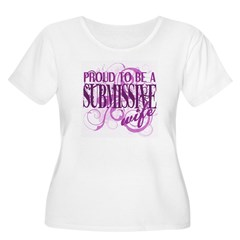 Proudly Submissive Plus Size T-Shirt