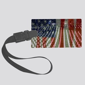 Patriotism Large Luggage Tag