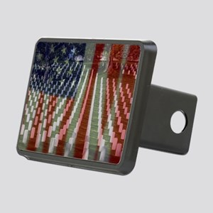 Patriotism Rectangular Hitch Cover