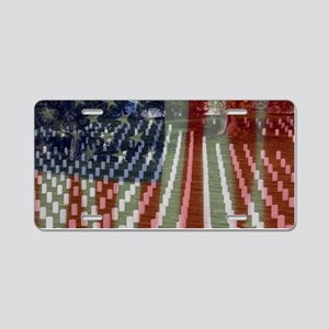 Patriotism Aluminum License Plate