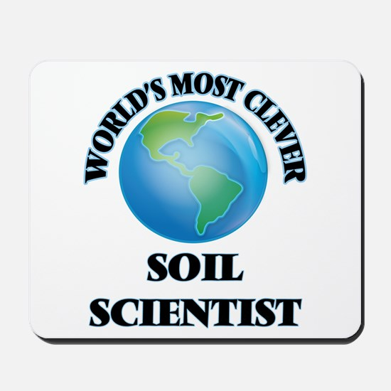 World's Most Clever Soil Scientist Mousepad