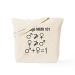 Marriage Math 101 Tote Bag