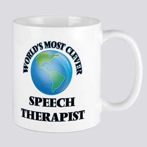 World's Most Clever Speech Therapist Mugs