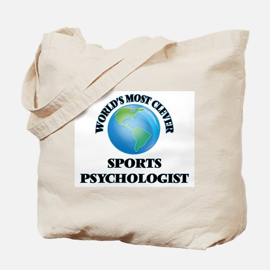 World's Most Clever Sports Psychologist Tote Bag