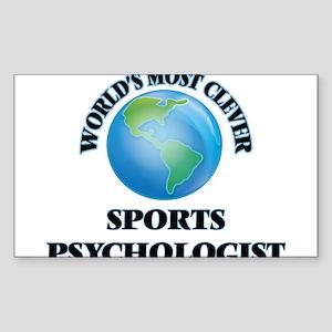 World's Most Clever Sports Psychologist Sticker