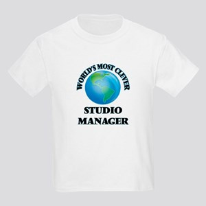 World's Most Clever Studio Manager T-Shirt