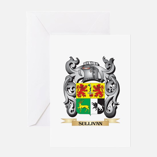 Sullivan Coat of Arms - Family Cres Greeting Cards