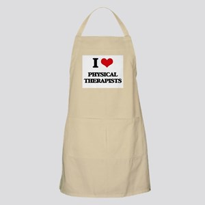 I Love Physical Therapists Apron