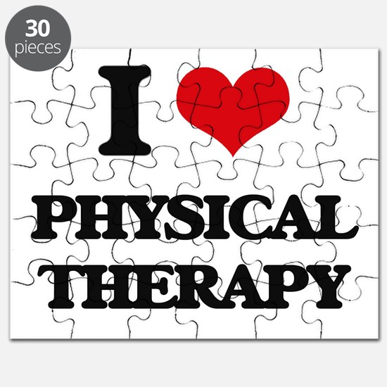 I Love Physical Therapy Puzzle