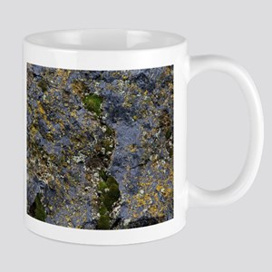 Obsidian and Lichen Mugs