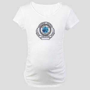 Florida Highway Patrol Maternity T-Shirt