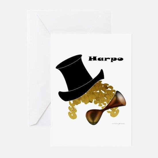Harpo Greeting Cards (Pk of 20)