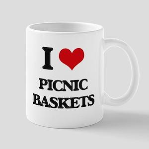 I Love Picnic Baskets Mugs