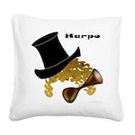 Harpo Square Canvas Pillow