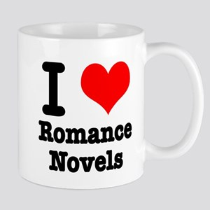 I Heart (Love) Romance Novels Mug