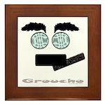 Groucho Framed Tile