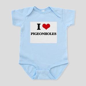 I Love Pigeonholes Body Suit