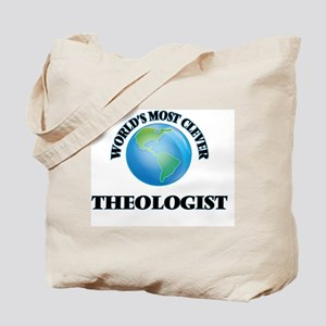 World's Most Clever Theologist Tote Bag