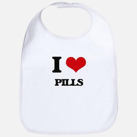 I Love Pills Bib