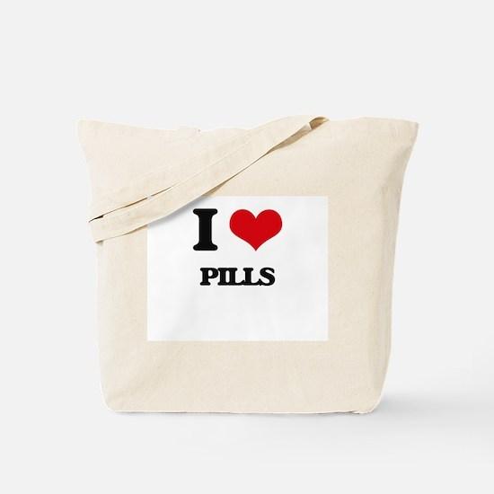 I Love Pills Tote Bag
