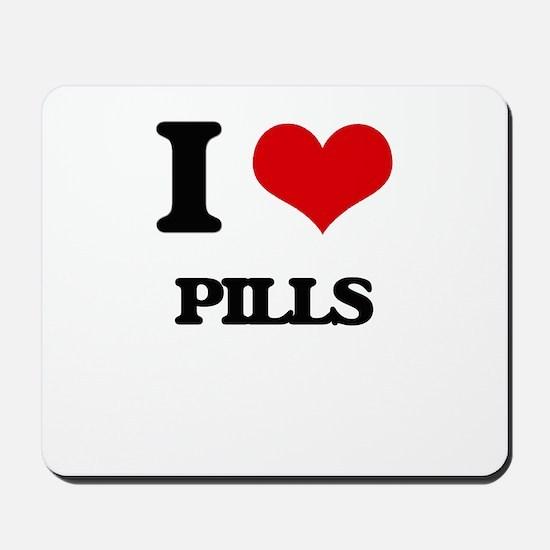 I Love Pills Mousepad