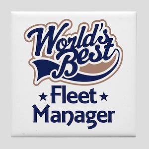 Fleet Manager (Worlds Best) Tile Coaster