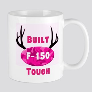 F150 Pink Camo Deer Horns Mugs