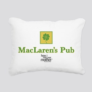 HIMYM Pub Rectangular Canvas Pillow