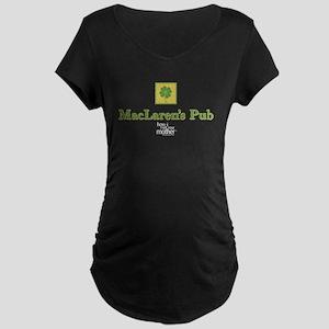 HIMYM Pub Maternity Dark T-Shirt