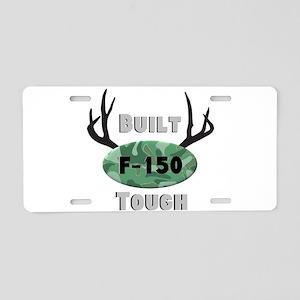 F150 Deer Horns Aluminum License Plate