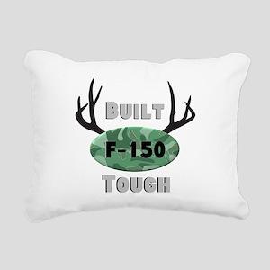 F150 Deer Horns Rectangular Canvas Pillow