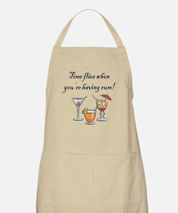 WHEN YOURE HAVING RUM Apron