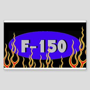 F150 Flames Sticker