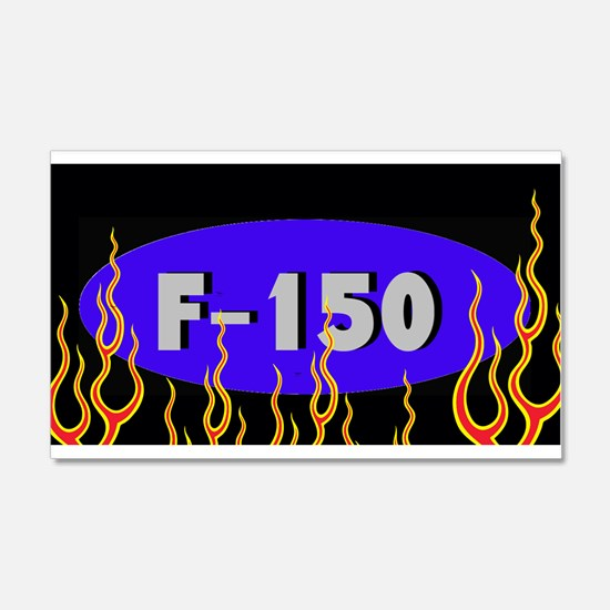 F150 Flames Wall Decal