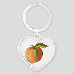 Ripe Peach Keychains